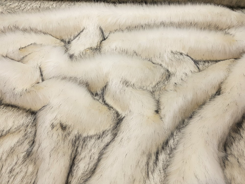 Tissavel Arctic Fox Faux Fur Swatch Faux Fur Throws Fabric And Fashion