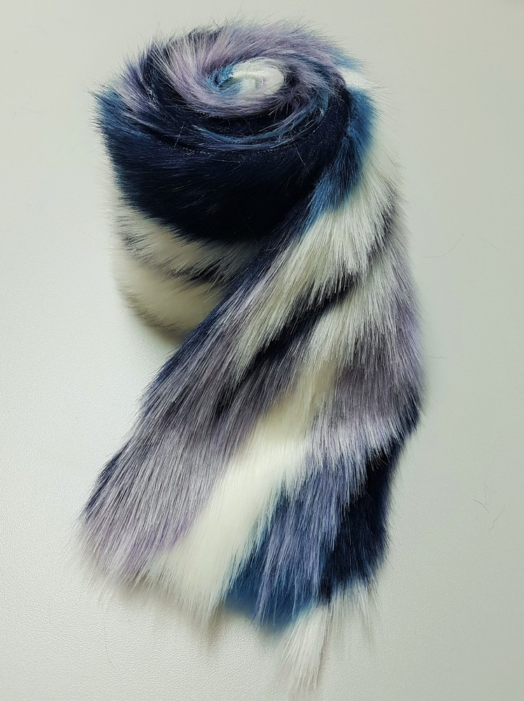 Tissavel Harlequin Faux Fur Trims Faux Fur Throws