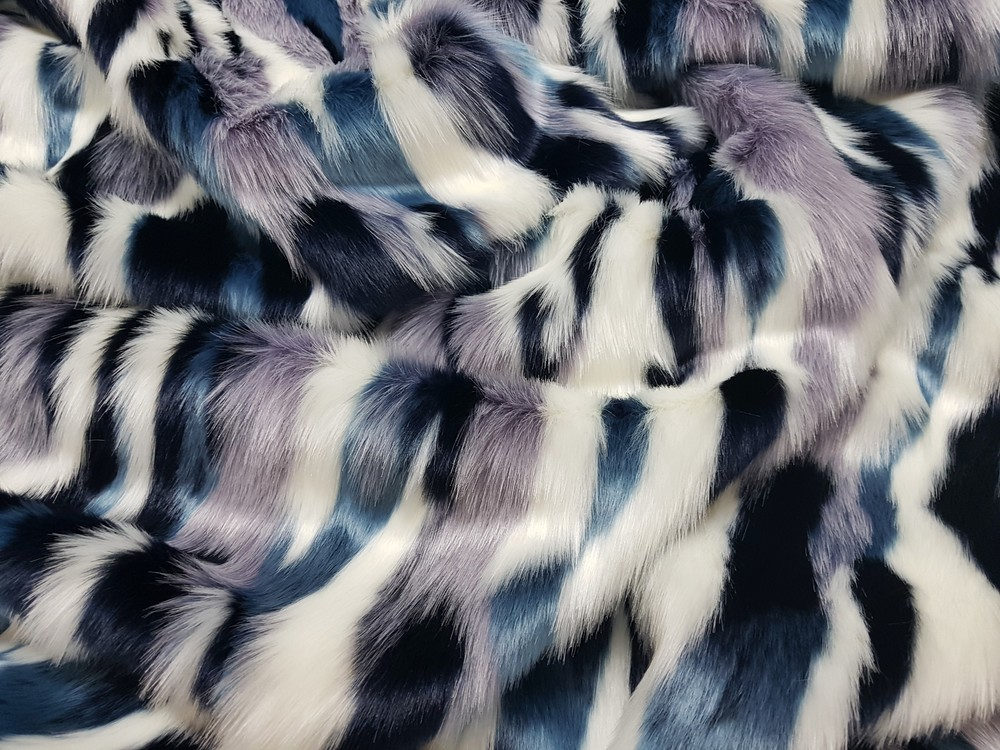 Tissavel Harlequin Faux Fur Swatch Faux Fur Throws