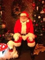 Faux Fur Men's and Women's Santa Suits