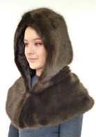 Faux Fur Zipped Hoods