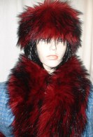 Moulin Rouge Faux Fur Headbands, Scarves, Accessories
