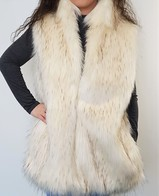 Faux Fur Gilets and Body Warmers