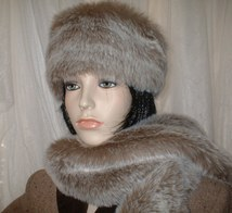 Koala Faux Fur Hats, Scarves and Accessories