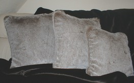 Koala Faux Fur Cushions