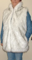 Long Faux Fur Gilets