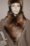 Madagascar Faux Fur Hats, Scarves, Collars and Accessoriess,