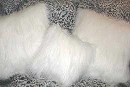 Polar Bear Faux Fur Cushions