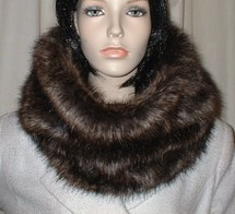 Brown Bear Faux Fur Hats, Scarves and Accessories