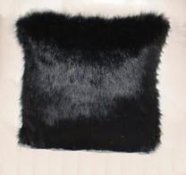 Black Bear Faux Fur Cushions