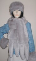 Faux Fur Tail Scarves