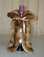Fabulous Faux Fur Bottle Wraps