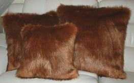 Amber Faux Fur Cushions