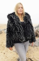 Faux Fur Cropped Jackets