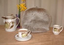 Faux Fur Tea Pot Covers & Egg Cosies