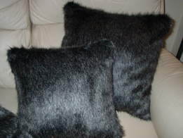 Wolfhound Faux Fur Cushions