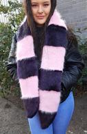 Faux Fur Cheshire Scarves