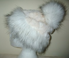 Faux Fur Bobble Hats