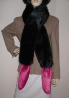 Faux Fur Boa Scarves