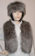 Faux Fur Bolero Waistcoats