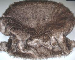 Brown Bear Faux Fur Pet Blanket