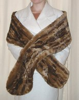 Slim Faux Fur Stoles