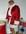 Women's Faux Fur Santa Dress