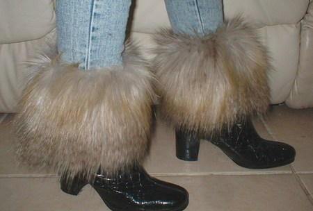 Coyote Faux Fur Boot Toppers