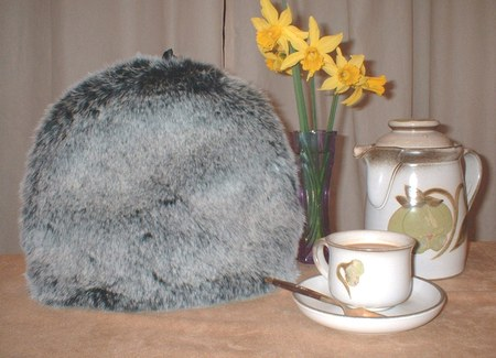 Faux Fur Tea/Coffee Cosies