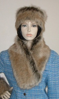 Husky Faux Fur Neck Scarf