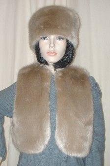 Honey Blonde Faux Fur Bolero/Waistcoat