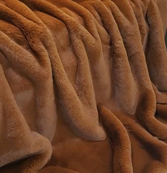 Autumn Leaves Faux Fur Cushions