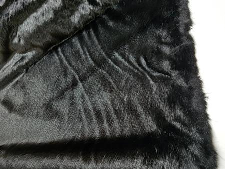 Black Mink Faux Fur SECONDS Mega Sale