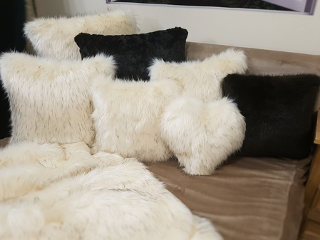 Tissavel Himalaya Faux Fur Cushions