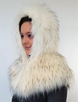 Tissavel Himalaya Faux Fur Zipped Hood