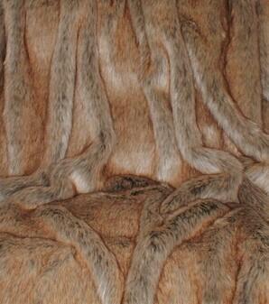 Husky Faux Fur Fabric Per Meter