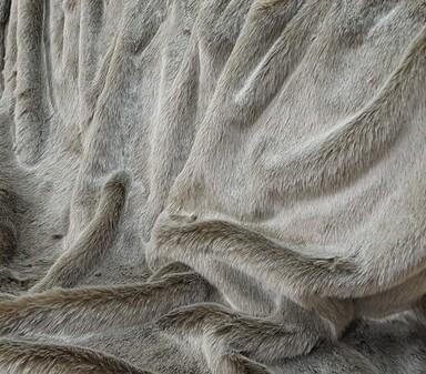 Koala Faur Fux Tail Scarf
