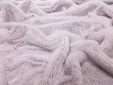 Tissavel Lavender Faux Fur Swatch