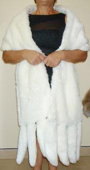 Signature Faux Fur Tail Stoles