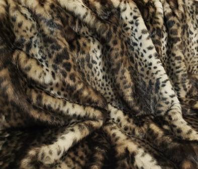 New Ocelot Faux Fur SECONDS Per Meter