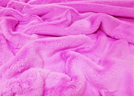 Orchid Faux Fur Throws