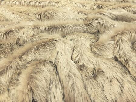 SECONDS Tissavel Palomino Faux Fur Per Meter