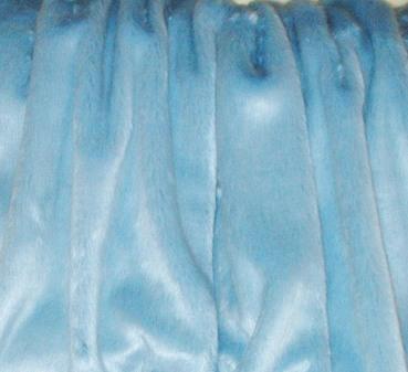 Children's Powder Blue Faux Fur Headband
