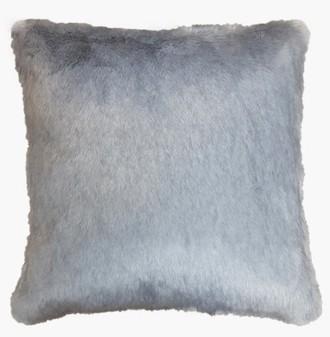 Silver Mink Faux Fur Cushions
