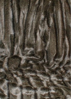 Smokey Mountain Faux Fur SECONDS Per Meter