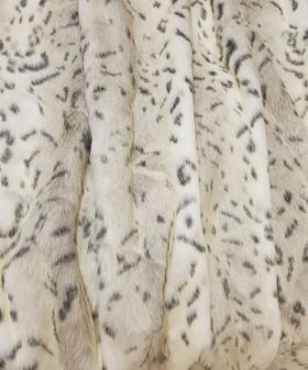 Children's Snow Lynx Faux Fur Headband