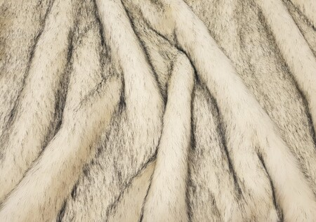Tissavel Arctic Fox Faux Fur SECONDS Per Meter