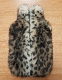 New Ocelot Faux Fur Hot Water Bottle Cover
