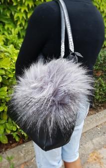 Siberian Faux Fur Giant Pom Pom