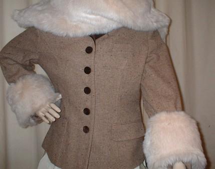Sunny Bear Faux Fur Cuffs